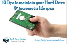 Hard disks generally have quite a long lifetime of around four to five years. Here are some simple steps which will help you increase the life span of your hard disk drive.