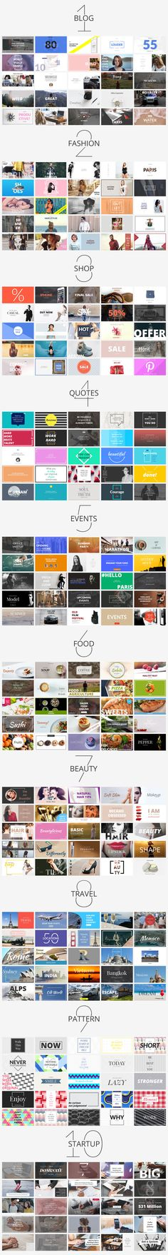 Massive Social Media Banners Pack by Web Donut on @creativemarket