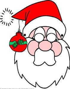 Le masque du Père Noël
