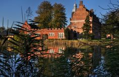 Broholm Castle, Denmark Denmark Castles, Kingdom Of Denmark, Palaces, Homeland, Danish, Countryside, Inspirational, Mansions, House Styles