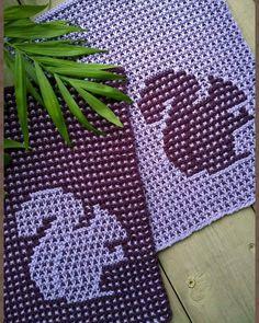 Knitting Patterns Free, Free Knitting, Stitch Patterns, Crochet Patterns, Mosaic Knitting, Crochet Kitchen, Yarn Crafts, Dishcloth, Blanket