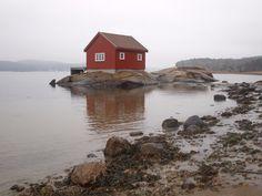 """Foto: Ann-Sissel Amundsen """"Hytte ved sjøen"""""""