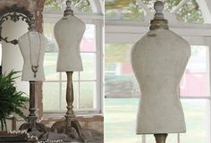 Vintage Inspired Mannequins - From Antiquefarmhouse.com - http://www.antiquefarmhouse.com/current-sale-events/glam7/vintage-inspired-mannequins.html