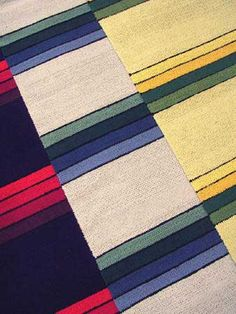 Poppanavakka – Riemuraita Loom Weaving, Hand Weaving, Rag Rugs, Tear, Woven Rug, Projects To Try, Carpet, Quilts, Summer