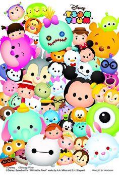 Big Hero Hype — tinkeperi: Disney Japan: Disney Tsum Tsum...