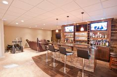 Living Room Bar, Handcrafted homes by Reside Construction Lethbridge Living Room Bar, Living Spaces, Liquor Cabinet, Construction, Homes, Furniture, Ideas, Home Decor, Building