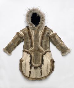 Parka, atkuk, Culture Yupik-The Smithsonian's National Museum of Natural History