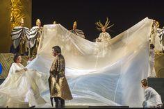 In foto Giovanna Casolla (Turandot) e Rudy Park (Principe Calaf)  Foto di Giorgio Andreuccetti