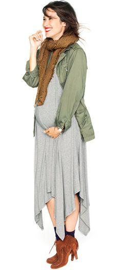 Стильные беременные образы