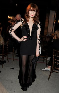 Florence Welch attends the 'Britain Creates 2012: Fashion & Art Collusion' VIP Gala dinner, in association with the British Fashion Counicl and Bazaar Fashion Arts Foundation, at the Old Selfridges Hotel on June 27, 2012 in London, England.