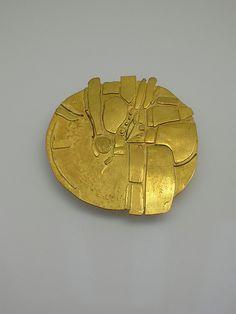 Hermann Jünger (1928-2005) - Brooch. 18K Gold. Circa 1967.