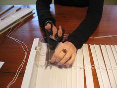bloomerism :: a blog by inBloom Event Design: DIY Blinds!