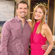 Young and Restless ( Soap Opera Stars, Soap Stars, Joshua Morrow, Eric Young, Michelle Stafford, Wilson Bethel, Young And The Restless, Forever Young, Backstage