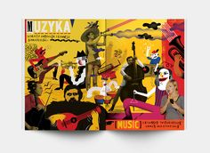 Graphic design of the exhibition guide for children / miniMICETNarodowy Teatr Stary w Krakowie