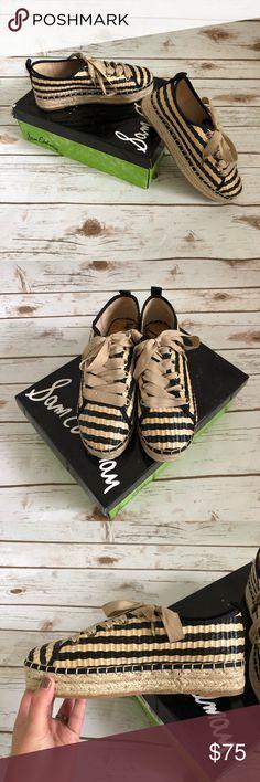 7cbc4f018865e NIB Sam Edelman Celina espadrille flat sneaker NIB Sam Edelman Celina  espadrille flat sneaker in excellent