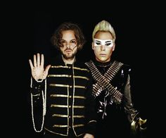 Empire of the sun- I used to HATE this band, but I like them now.