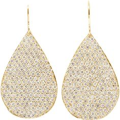 Irene Neuwirth Diamond Collection Diamond & Gold Large Pear-Shaped Earrings on shopstyle.com