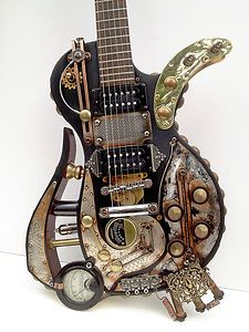 Steampunk guitars! Something like that.. I might teach myself to play.