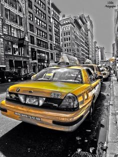 yellow cab byjstiles-photographer