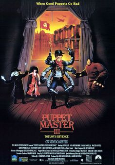 John's Horror Corner: Puppet Master III: Toulon's Revenge (1991)