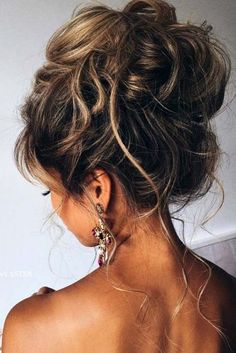 Perfectly messy updo <3