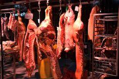 Vlees in de koeling