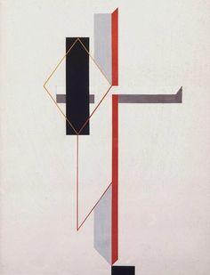 garconincognito:  El Lissitzky, Proun, ca. 1922