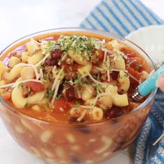 Pasta e fagioli soup is so hearty, healthy and delicious, and you can make it in your Instant Pot or on the stovetop. Instant Pot Pressure Cooker, Pressure Cooker Recipes, Soup Recipes, Cooking Recipes, Fall Recipes, Pasta E Fagioli Soup, Tandoori Masala, Best Instant Pot Recipe, Recipes