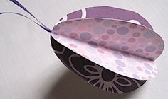 paper egg ornament--perfect for toddlers to glue together or preschoolers to cut out/glue.  love it!