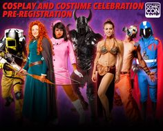 *PIN to WIN* Pre-Registration for the Cosplay and Costume Celebration at Salt Lake Comic Con is NOW OPEN! The deadline to register is September 4, 2015. / Compete as a Youth (5-12 years of age) or Adult (13 and above) in Two Categories of Competition (Pure Costume or Cosplay) at three skill levels (Novice, Intermediate, Master).  Save the date! Prejudging Event - September 19th. http://saltlakecomiccon.com/cosplay-celebration-pre-registration/?cc=COSPLAY