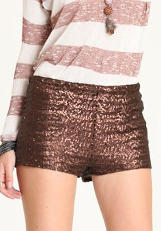 sparkle bootie shorts... if only i had an appropriate place to wear you!