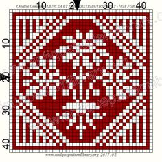 ru / Фото - Le Filet Ancien V - gabbach Crochet Square Patterns, Crochet Diagram, Crochet Squares, Filet Crochet, Cross Stitch Patterns, 123 Cross Stitch, Celtic Cross Stitch, Cross Stitch Borders, Cross Stitch Designs