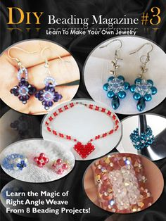 Learn to make handmade jewelry with DIY Beading Club Issue 32