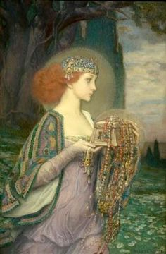 Fortune by Charles Allen Winter (1869 – 1942)