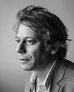 Mathieu Amalric (b 1965) French actor and filmmaker; portait by Jean-François Robert