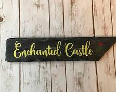 Image result for enchanted castle font