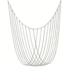 Your go-to formal necklace that your daughter will beg to borrow for her prom dress. Silver Keaton Necklace by Towne and Reese. $35.