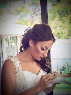 wedding hair #bride #gs hair studio#hair@gshairstudio