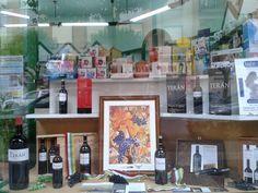 Con motivo de #SanMateo podéis encontrar Marqués de Terán en el escaparate de Herboristería Los 5 Elementos, en la calle Padre Claret nº 2 de Logroño
