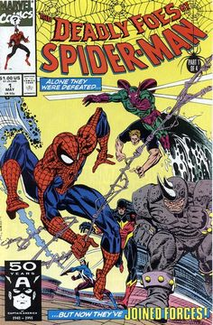 The Deadly Foes of Spider-Man n°1 (1991) #deadlyfoes #spiderman #marvel #comics