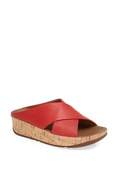 581b1ad85 FitFlop  Kys™  Leather Sandal available at  Nordstrom Leather Sandals