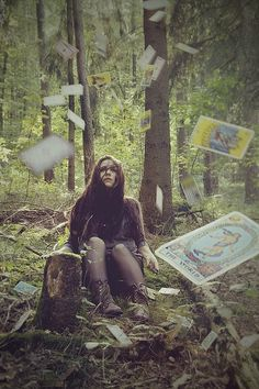 forest witch and wild tarot