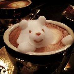 Japanese Coffee Artist Creates Adorable 3D Latte Art, 'Pops Out Of The Cup' - DesignTAXI.com