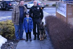 "ETPD K9 - ""Coffee with a Cop"" McDonalds Feb 22, 2014."