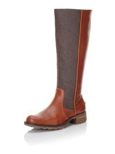 68% OFF Sebago Women's Saranac Knee-High Boot (Light Brown/Herringbone)