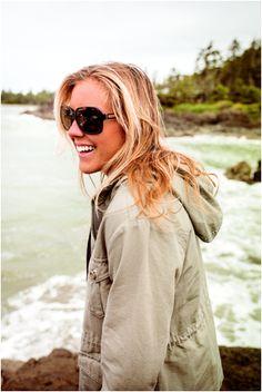 leila hurst - in ZEAL Hadley sunglasses
