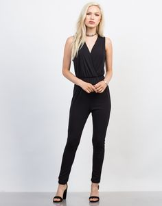 Get comfy with our Open Back Jumpsuit. Pair this jumpsuit with some strappy heels and clutch for a night out.