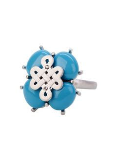 LUCERNE RING TURQUOISE SILVER, TURQUOISE SILVER BP FINISH SIZE 6