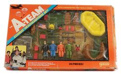 A Team Combat Headquarters Playset. I've still got this one in the box. Wonder what it's worth?