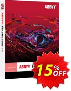 875c9f6609f  15% OFF  ABBYY FineReader Coupon Resurrection Sunday sales April 2019.  Regular price